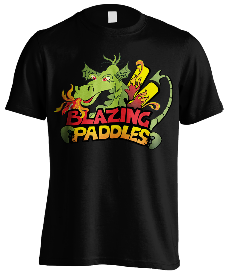 Event Logo Design for Blazing Paddles